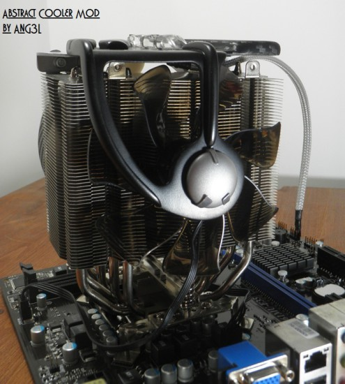 Моддинг проект Abstract Cooler от моддера AnG3L