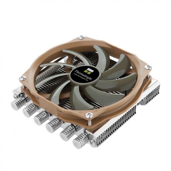 Общий вид процессорного кулера Thermalright AXP-100 в три четверти