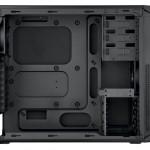 Внутренности корпуса Corsair Carbide 200R