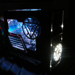 Проект Stark PC 7 HX в темноте