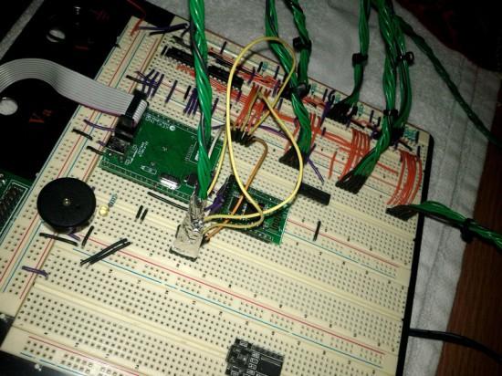 Схема прототипа компьютеризированной гирлянды