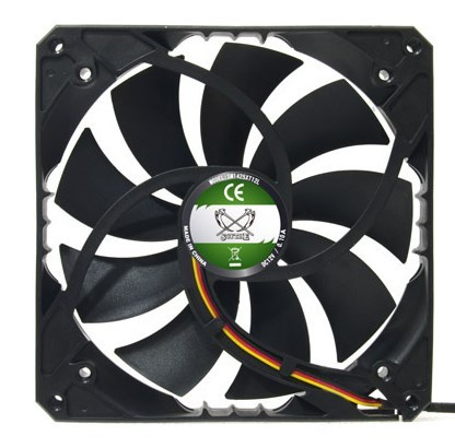 A basic view of Scythe SlipStream 140XT series fan