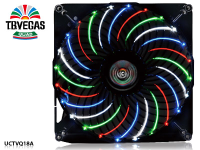 Общий вид вентиляторов Enermax T.B. Vegas Quad