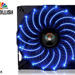 Вентиляторы Enermax T.B. Apollish с синей подсветкой