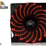 Вентиляторы Enermax T.B. Apollish с красной подсветкой