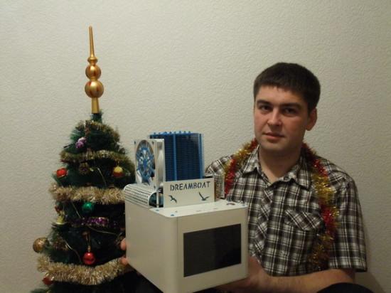 Моддер TinMen со своим проектом DREAMBOAT