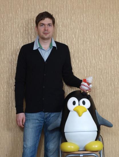 Павел Рафалович со своим моддинг проектом Ping