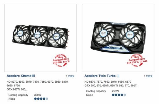 Кулеры Arctic Cooling получили поддержку видеокарт серии Radeon HD 8000