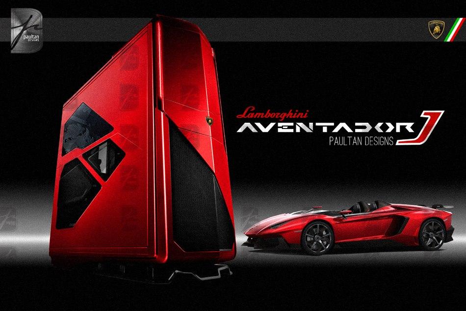 Paultan Resumes Work On His Lamborghini Aventador J Pc Modding