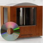 Сравнение размера корпуса с компакт-диском