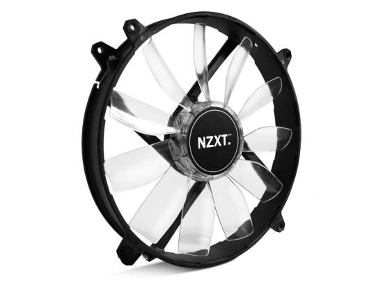 Общий вид вентилятора NZXT FZ-200 со светодиодной подсветкой