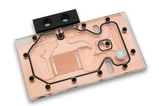 Общий вид фулкавер ватерблока EK Waterblocks EK-FC Titan