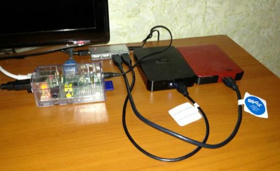 Реализация проекта на основе Raspberry Pi