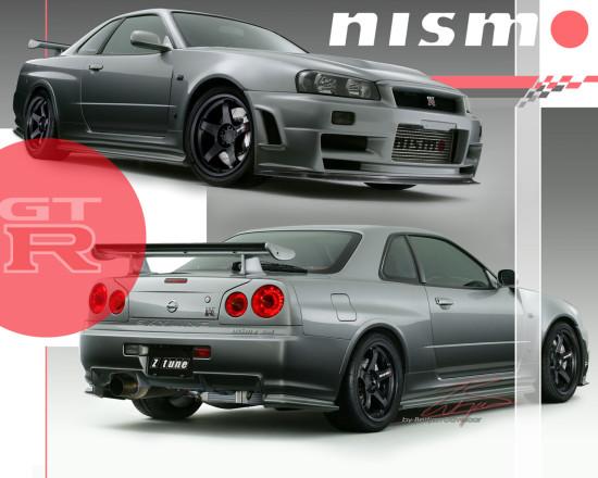 Nissan Skyline GT-R — автомобиль, в честь которого делается данный моддинг проект