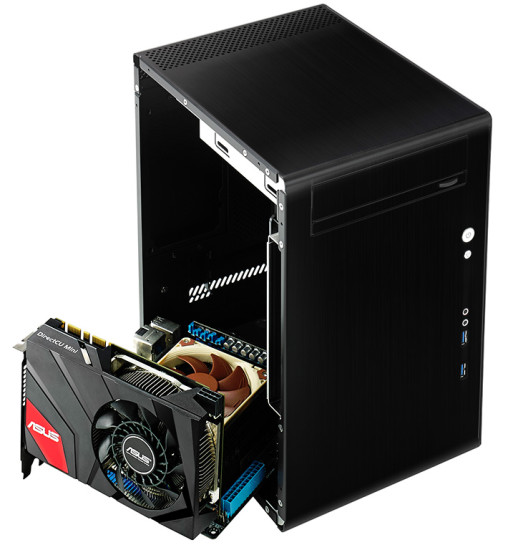 ASUS GeForce GTX 670 DirectCU Mini предназначена специально для компактных систем