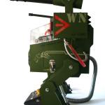 Вид сбоку на проект X79 IRON JAGUAR
