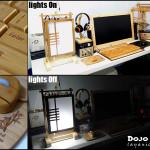 Коллаж фотографий проекта Dojo Light