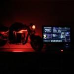 Вид проекта MoTo PC с подсветкой