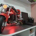 Main view of the MoTo PC modding project