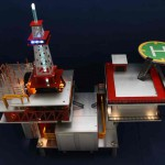 Общий вид моддинг проекта Oil RIG