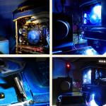 Коллаж фотографий проекта Jeepney PC