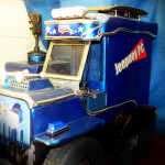 Вид вблизи на проект Коллаж фотографий проекта Jeepney PC