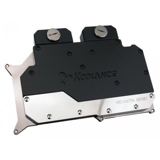 Общий вид фулкавер ватерблока Koolance VID-NXTTN