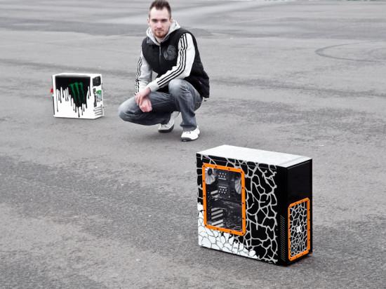 Моддер Moddingboy с проектами Gymkhana Mod (слева) и Gymkhana Mod II (справа)