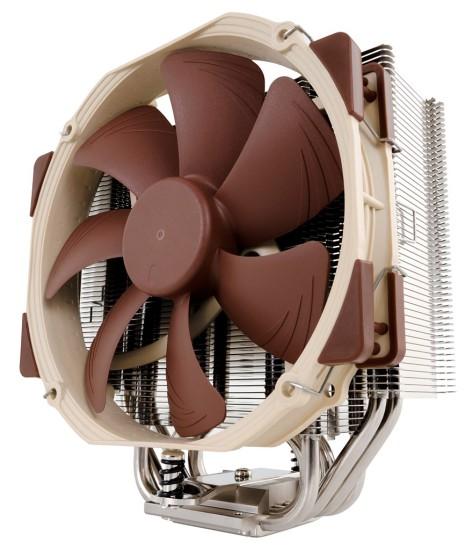 Общий вид процессорного кулера Noctua NH-U14S
