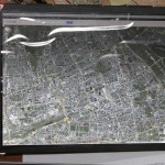 Отображение карты на дисплее
