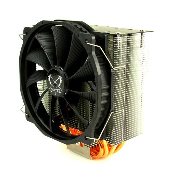 Общий вид процессорного кулера Scythe Ashura в три четверти
