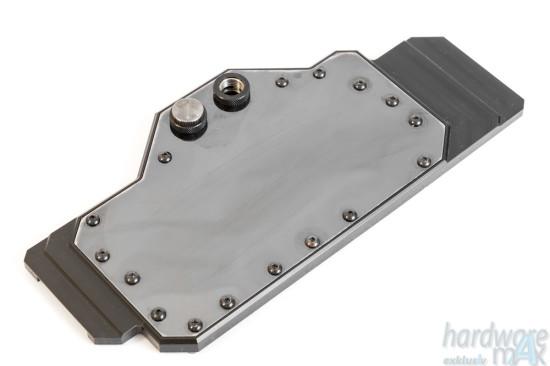 Общий вид фулкавер ватерблока Alphacool NVXP Titan