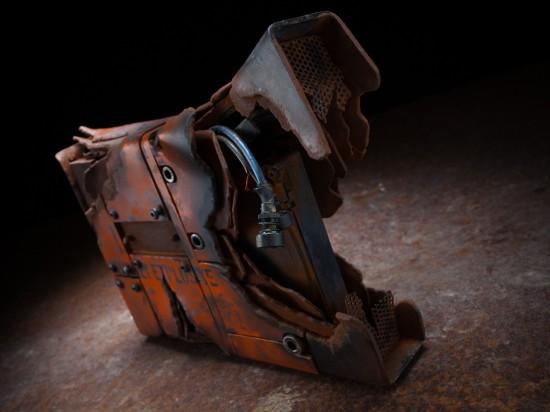 Общий вид постапокалиптического кармана для жесткого диска