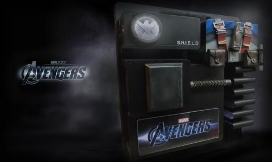 Общий вид сбоку на законченный моддинг проект Avengers Level 10 project