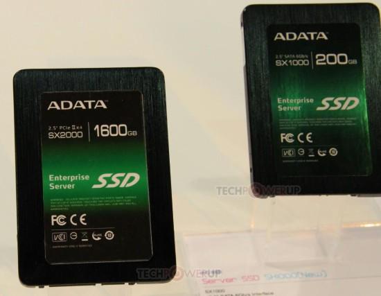 Твердотельные накопители новых линеек SX2000 и SX1000 от ADATA