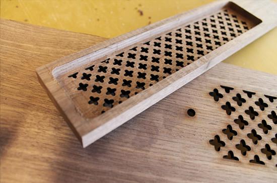 Вентиляционная решетка, которая будет использована в проекте Revelation