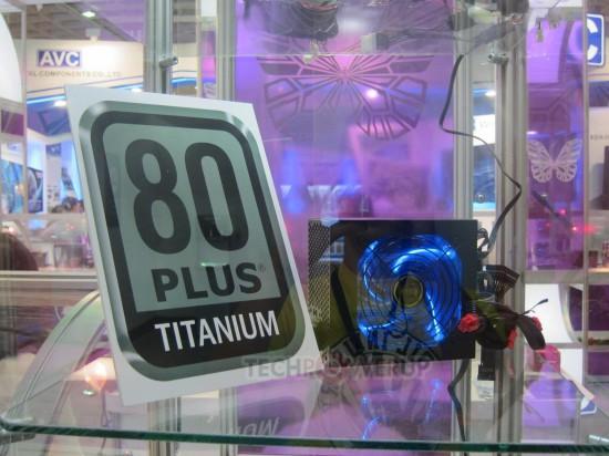 Один из новых блоков питания стандарта 80 Plus Titanium