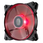 Вентилятор с красной подсветкой