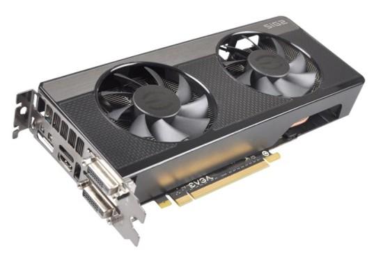 Общий вид видеокарты EVGA GeForce GTX 660 до того как над ней провели модификации