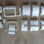 Детали, распечатанные на 3D принтере