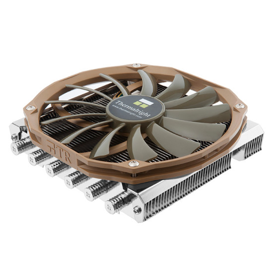 Общий вид нового процессорного кулера Thermalright AXP-200 в три четверти