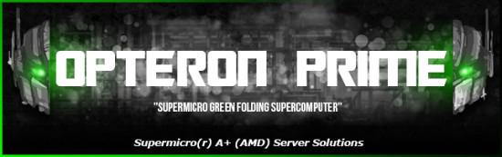 Баннер моддинг проекта Opteron Prime