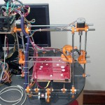 3D принтер, для которого делался БП