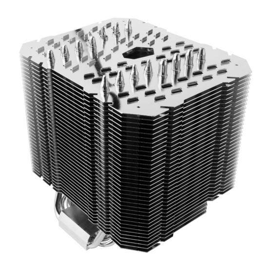 Общий вид процессорного кулера Thermalright HR-22 в три четверти