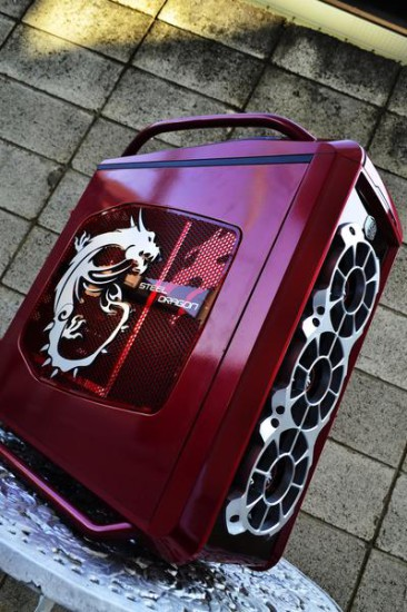 Общий вид на модддинг проект Cosmos Se — Steel Dragon под углом