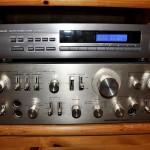 Радио в стойке с усилителем