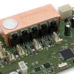 Вид на силовые транзисторы
