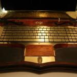 Вид вблизи на клавиатуру