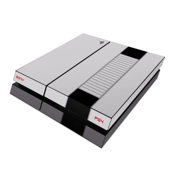 PlayStation 4, стилизованная под NES с помощью виниловой графики