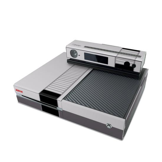 Xbox One, стилизованная под NES с помощью виниловой графики